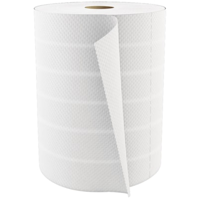"""Cascades PRO Select 2-Ply Utility Towels, White, 450 Sheets/Roll, 12/CS 2PLY  WHITE  11""""X8"""" 12=63"""