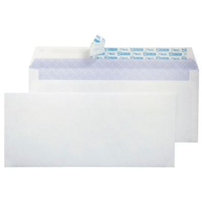 """Hilroy Press-It Seal-It Envelopes with Security Tint, White, #8, 3 5/8"""" x 6 1/2"""", 55/BX SECURITY  - 55/BOX SELF-ADHESIVE ENVELOPES"""