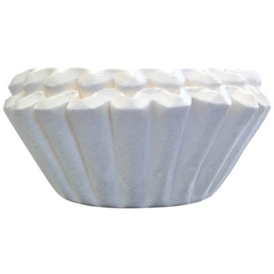 Melitta Basket Coffee Filters, Pure White, 100/PK WHITE  10-12 CUPS  100/PK