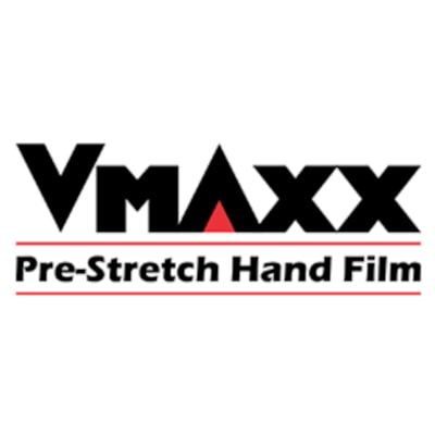 "Malpack V-Maxx Pre-Stretch Hand Film, 15"" x 1,476', Carton of 4 Rolls 15"" X 1476' ROLL 4 ROLLS PER CASE"