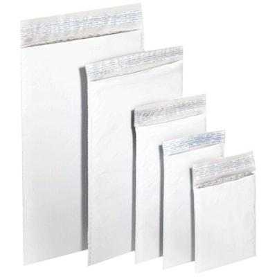 """PolyAir Xpak Poly Bubble Mailers, White, #2, 8 1/4"""" x 11"""", Box of 100 8.5"""" X 12"""""""