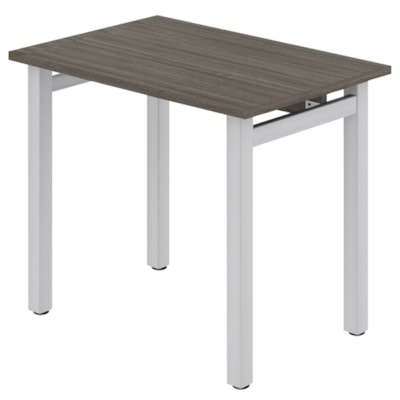 """Offices To Go Ionic Table Desk, Absolute Acajou, 36"""" x 24"""" x 29"""" ML3624DWL ACJ TN"""