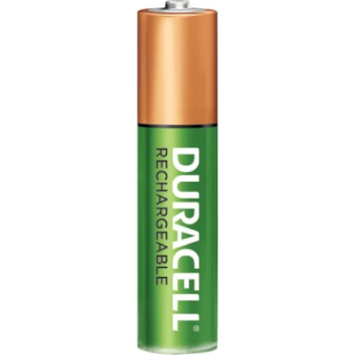 """Duracell Rechargeable """"AAA"""" NiMH Batteries, 4/PK  4/PACK CUST SPECIFIC"""
