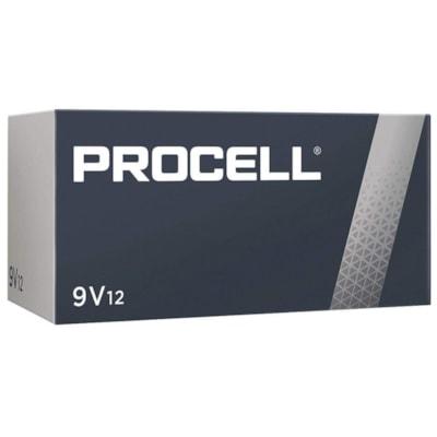 "Duracell Procell Professional ""9V"" Alkaline Batteries, 12/BX"
