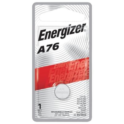 Energizer A76 Miniature Alkaline Cell Battery 1/PK CUST SPECIFIC