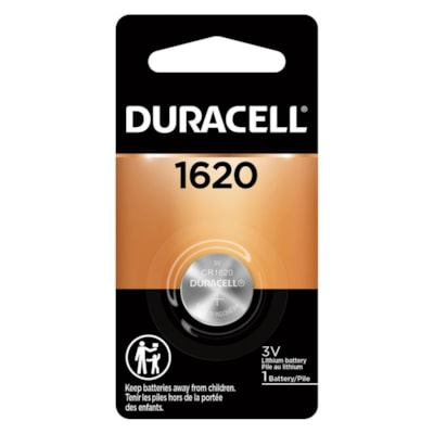 Duracell Lithium 1620 Coin Battery COIN 3V 1/PACK CUST SPECIFIC