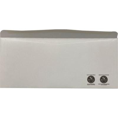 """Supremex Antimicrobial Envelopes, White Wove, #10, 4 1/8"""" x 9 1/2"""", 500/BX 24LB WHITE WOVE BX500"""