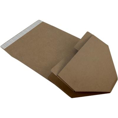 "ReadyPack Self-Seal Small Packing Boxes, Brown Kraft, 12"" x 9"" x 5"", 12/CT 12 X9 X5""  KRAFT  32B"