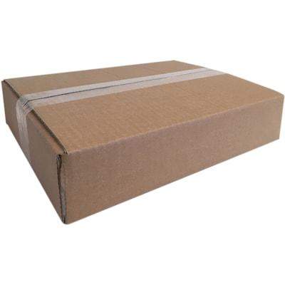 "Edge Flat Shipping Boxes, Kraft, 11 3/4"" x 8 3/4"" x 4 3/4"", 25/PK 11-3/4 X 8-3/4 X 4-3/4"" 29C"