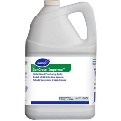 Diversey JonCrete Impermo Water Based Penetrating Floor Sealer, Manual, RTU, 3.78 L, 4/CS - New Brunswick Residents Only POUROUS FLOOR