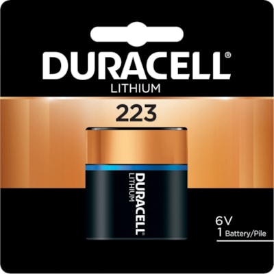 Duracell Lithium 223 Photo Battery 1 PACK CUST SPECIFIC