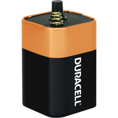 Duracell Coppertop Spring Top 6V Lantern Battery (MN908) LANTERN 13AH  1 PACK CUST SPECIFIC