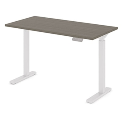 """Offices to Go Ionic Table Top for Electric Height-Adjustable Table Desk, Absolute Acajou, 46"""" x 23"""" x 1"""" (Tabletop only) HEIGHT ADJUSTABLE TABLE"""