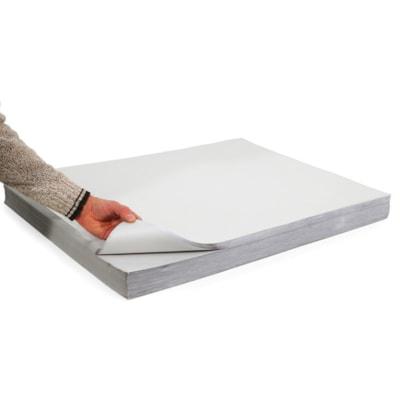 "Edge Wrapping Newsprint, White, 18"" x 24"", 500 Sheets per Pack 500 SH/PK"