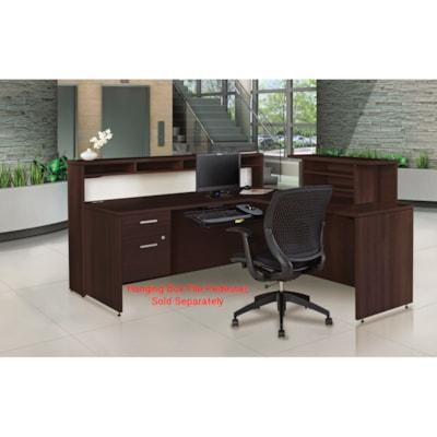 Offices to Go Ionic Reception Suite DARK ESPRESSO