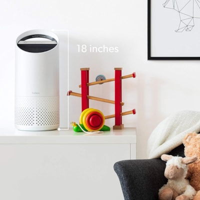 TruSens Air Purifier with 360-Degree Dupont HEPA Filter, Small Room, White PERSONAL - SMALL ROOM 7 X 7 X 17 IN - WHITE