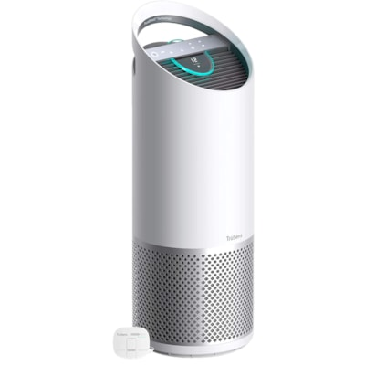 Purificateur d'air TruSens à filtre 360 degrés TRUE HEPA DuPont avec moniteur de qualité de l'air SensorPod, grande pièce, blanc AVEC SENSORPOD - GRANDE PIÈCE 10 X 10 X 28 PO - BLANC