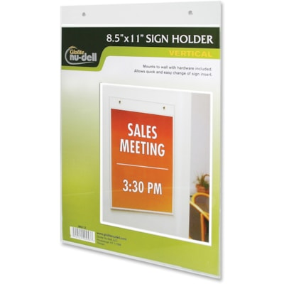 NuDell Acrylic Sign Holders