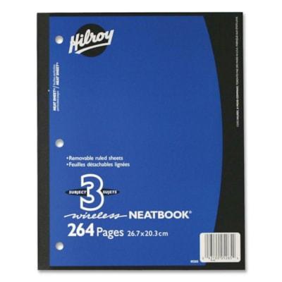 NEATBK 3 SUJ 10.5x8 PERF 264pg