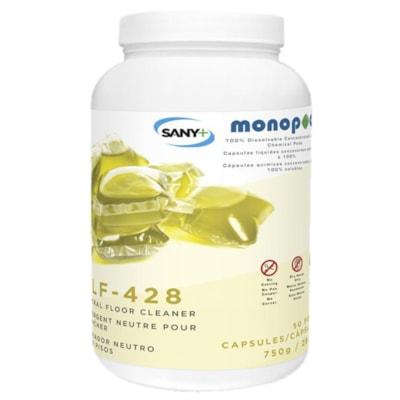 Sany+ MonoPOD Neutral Floor Cleaner, 50 Pods/PK