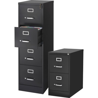 Lorell Commercial-grade Vertical File - 4-Drawer