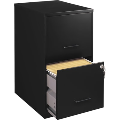 "Lorell SOHO 18"" 2-Drawer File Cabinet"