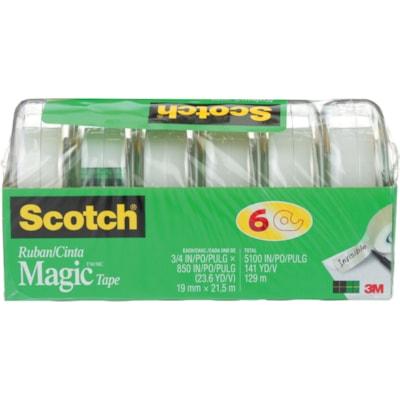 Scotch Magic¿ Gift Craft Tape, M850-6MP-ESF, 0.75 in x 23.6 yd