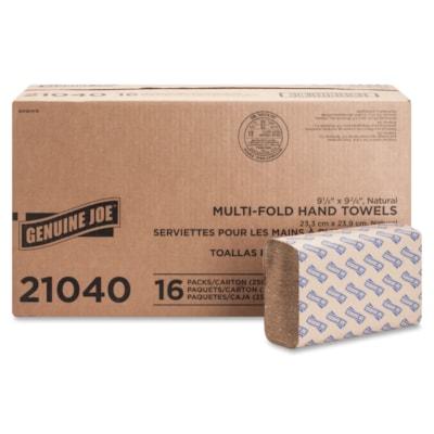 Genuine Joe Multifold Natural Towels