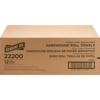 Genuine Joe Embossed Hardwound Roll Towels