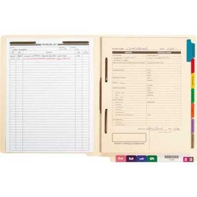 Smead Fastener File Folders with Shelf-Master Reinforced Tab