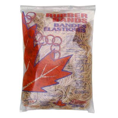 Alliance Rubber Bands, Size 24 BAG APPROX 600 BANDS PER 1LB