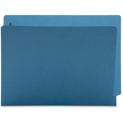 Business Source Coloured 2-Ply Tab Fastener Folders