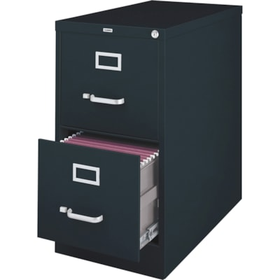 Lorell Vertical File Cabinet - 2-Drawer