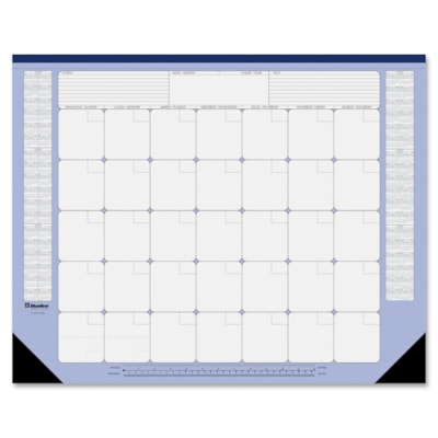 """Blueline Monthly Perpetual (22"""" x 17"""")"""