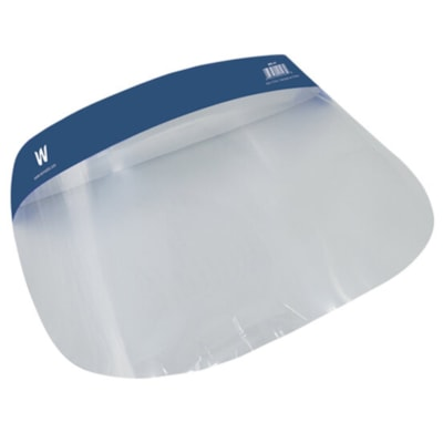 Winnable Medical Face Shield with Protective Isolation Mask 0.25MM THICKNESS  13  X 8.6