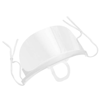"""Winnable Plastic Mouth Shield, Clear, 5 3/4"""" x 4"""", 10/BX SHILED SIZE: 5.75"""" X 4"""" CLEAR"""