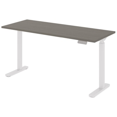 """Offices to Go Ionic Table Top for Electric Height-Adjustable Table Desk, Absolute Acajou, 58"""" x 23"""" x 1"""" (Tabletop only) HEIGHT ADJUSTABLE TABLE"""