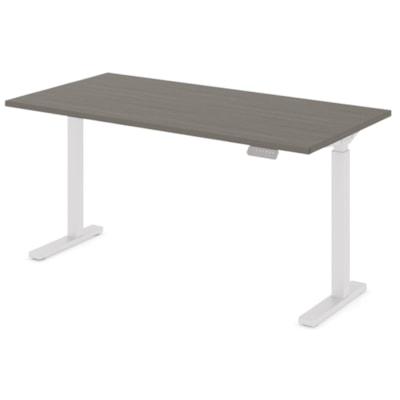 """Offices to Go Ionic Table Top for Electric Height-Adjustable Table Desk, Absolute Acajou, 58"""" x 29"""" x 1"""" (Tabletop only) HEIGHT ADJUSTABLE TABLE"""