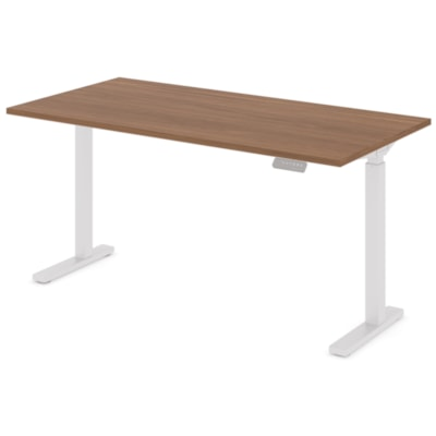 """Offices to Go Ionic Table Top for Electric Height-Adjustable Table Desk, Winter Cherry, 58"""" x 29"""" x 1"""" (Tabletop only) HEIGHT ADJUSTABLE TABLE"""