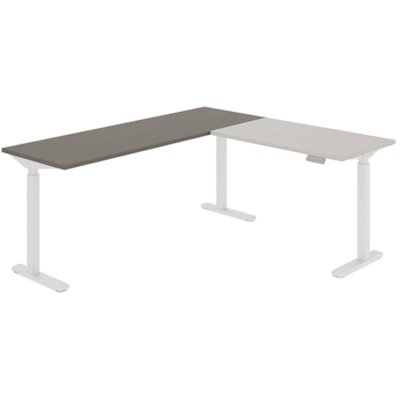"""Offices to Go Ionic Table Top for Electric Height-Adjustable Table Desk, Absolute Acajou, 70"""" x 23"""" x 1"""" (Tabletop only) HEIGHT ADJUSTABLE TABLE"""