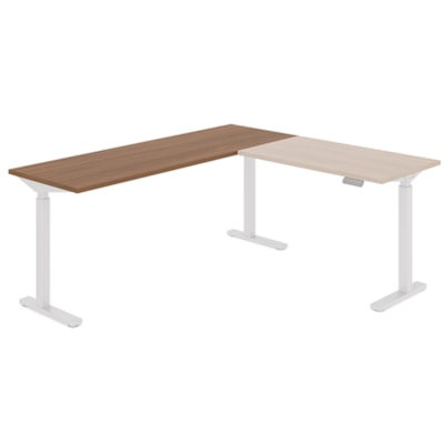 """Offices to Go Ionic Table Top for Electric Height-Adjustable Table Desk, Winter Cherry, 70"""" x 23"""" x 1"""" (Tabletop only) HEIGHT ADJUSTABLE TABLE"""