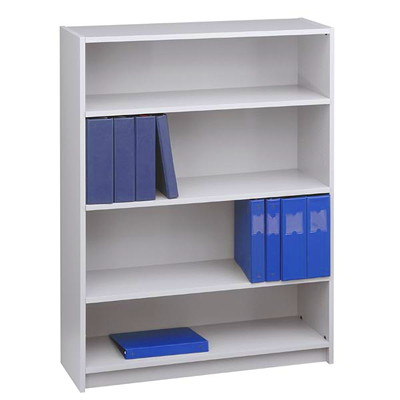 "Global Genoa Series 4-Shelf Bookcase, Grey, 36"" x 12"" x 48"" GREY 36""WX12""DX48""H  GLOBAL"