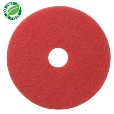 "Americo Floor Buffing Pads, Red, 13"", 5/CS AMERICO  FLOOR PADS"