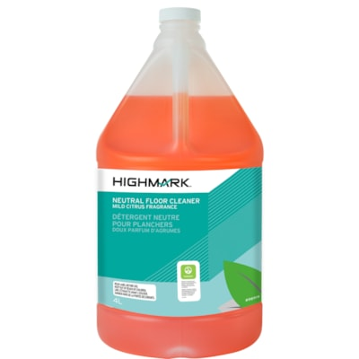 Highmark Neutral Floor Cleaner, Concentrate, Mild Citrus Fragrance, 4 L CONCENTRATED