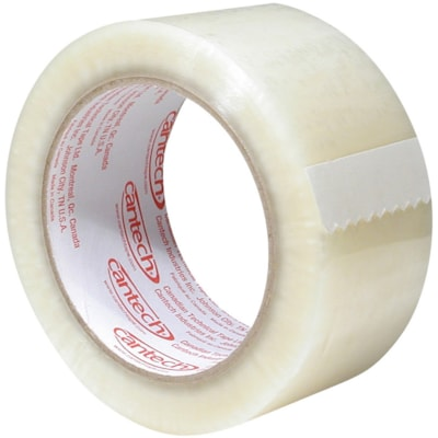 Cantech Economy Grade Sealing Tape, Clear, 48 mm x 50 m, 36/CT 48MM X50M 1.6MIL