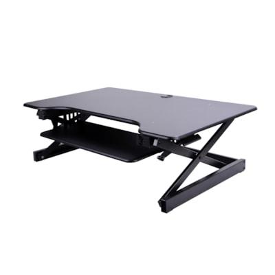 Rocelco DADR-40 Sit-to-Stand Desk Riser, Black table Desk Riser igue mat