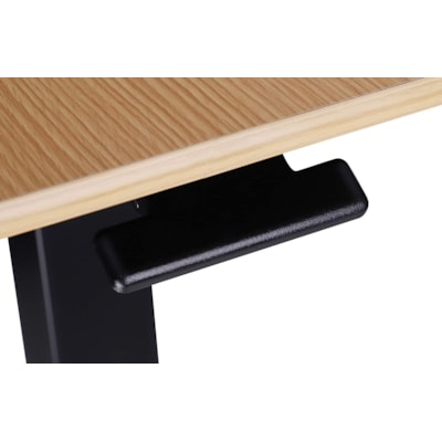 """Rocelco 28"""" Mobile Sit-to-Stand Desk 8""""W"""