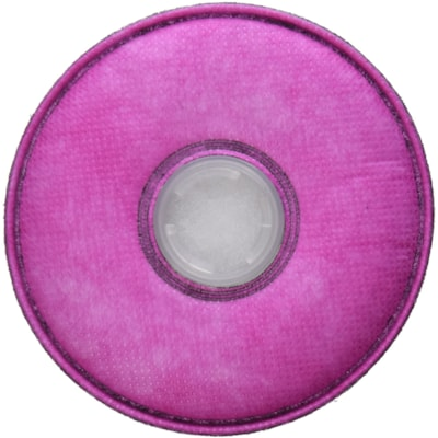 3M 2097 P100 Particulate Filter with Nuisance Level Organic Vapour Relief, Magenta, 2/PK NIOSH APPROVED
