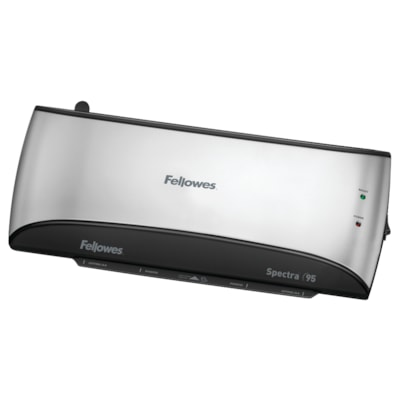 Fellowes Spectra 95 Laminator with Pouch Starter Kit includes a Starter Kit