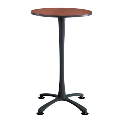 Safco Base de table de bistro de 42 po Cha-Cha, noir, base seulement NOIR